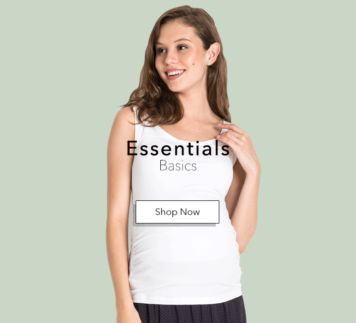 Maternity tank tops, basict t-shirts.