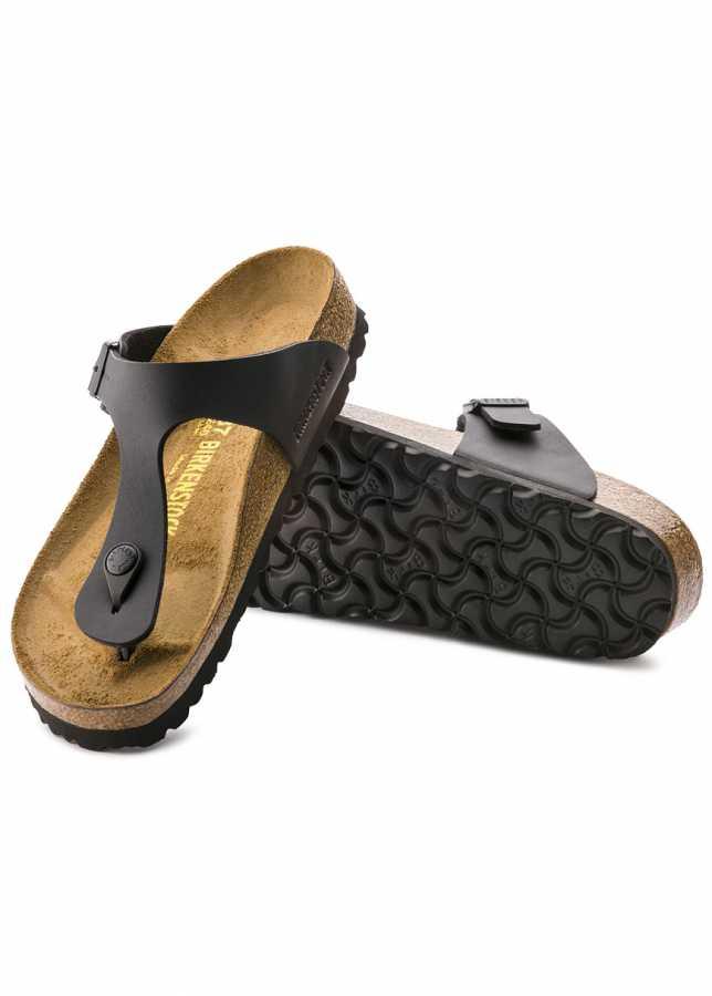 - Birkenstock Gizeh Black Sandalet (043691)