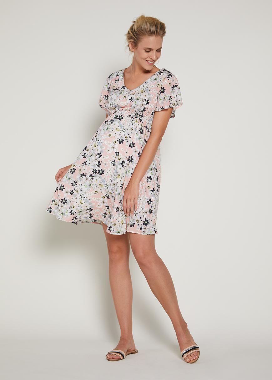 - Çiçekli Hamile Elbisesi Ford