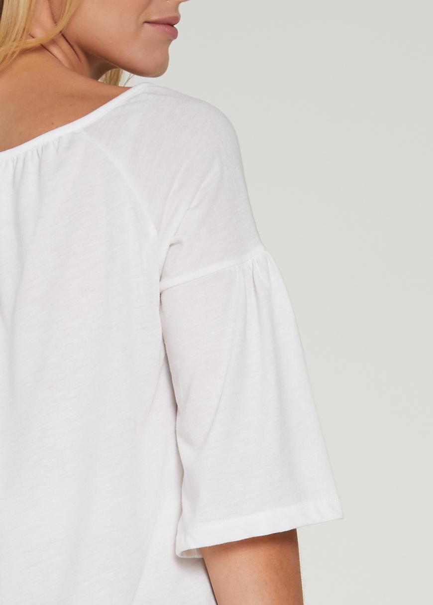 Etnik Detaylı Hamile Bluzu Bohemian