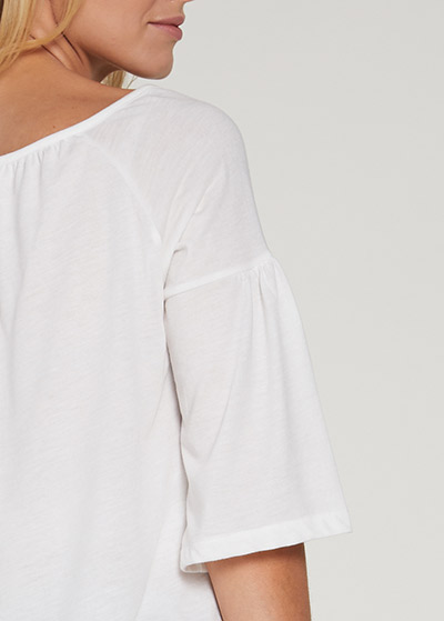 Etnik Detaylı Hamile Bluzu Bohemian - Thumbnail