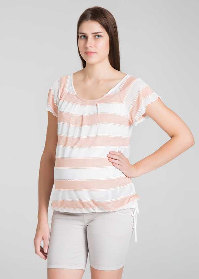 - Geniş Yakalı Hamile Bluzu Arya
