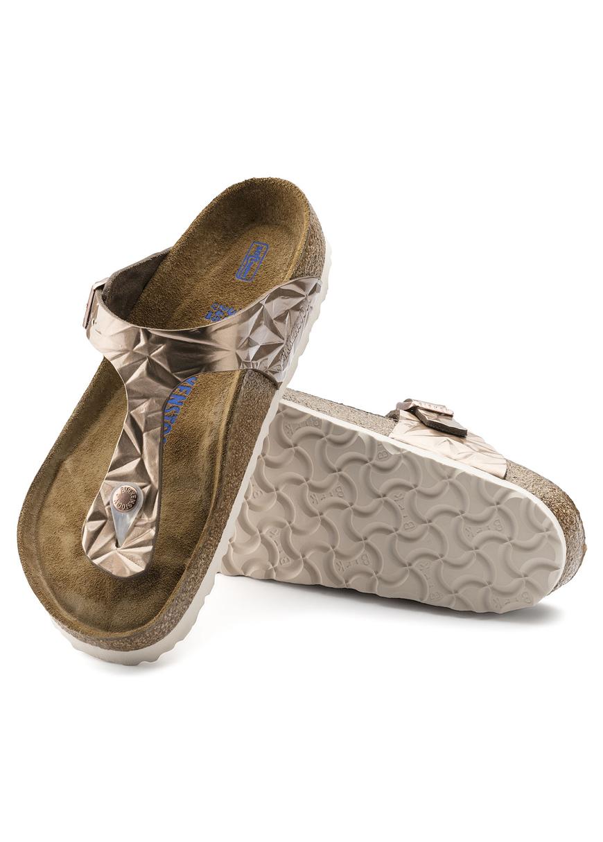 - Birkenstock Gizeh Soft Foot Bed Sandalet 1008471