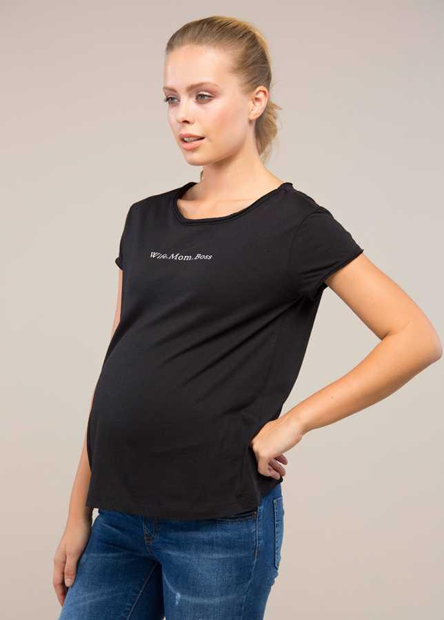 - Hamile Tişörtü Boss