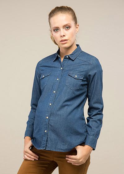 Jean Hamile Gömleği Kitaro - Thumbnail