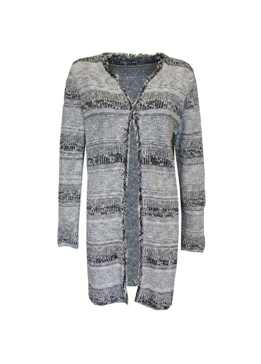 - Gray Cardigan Design