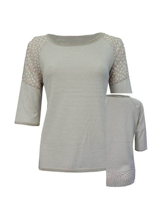 - Puantiye Detaylı Bluz