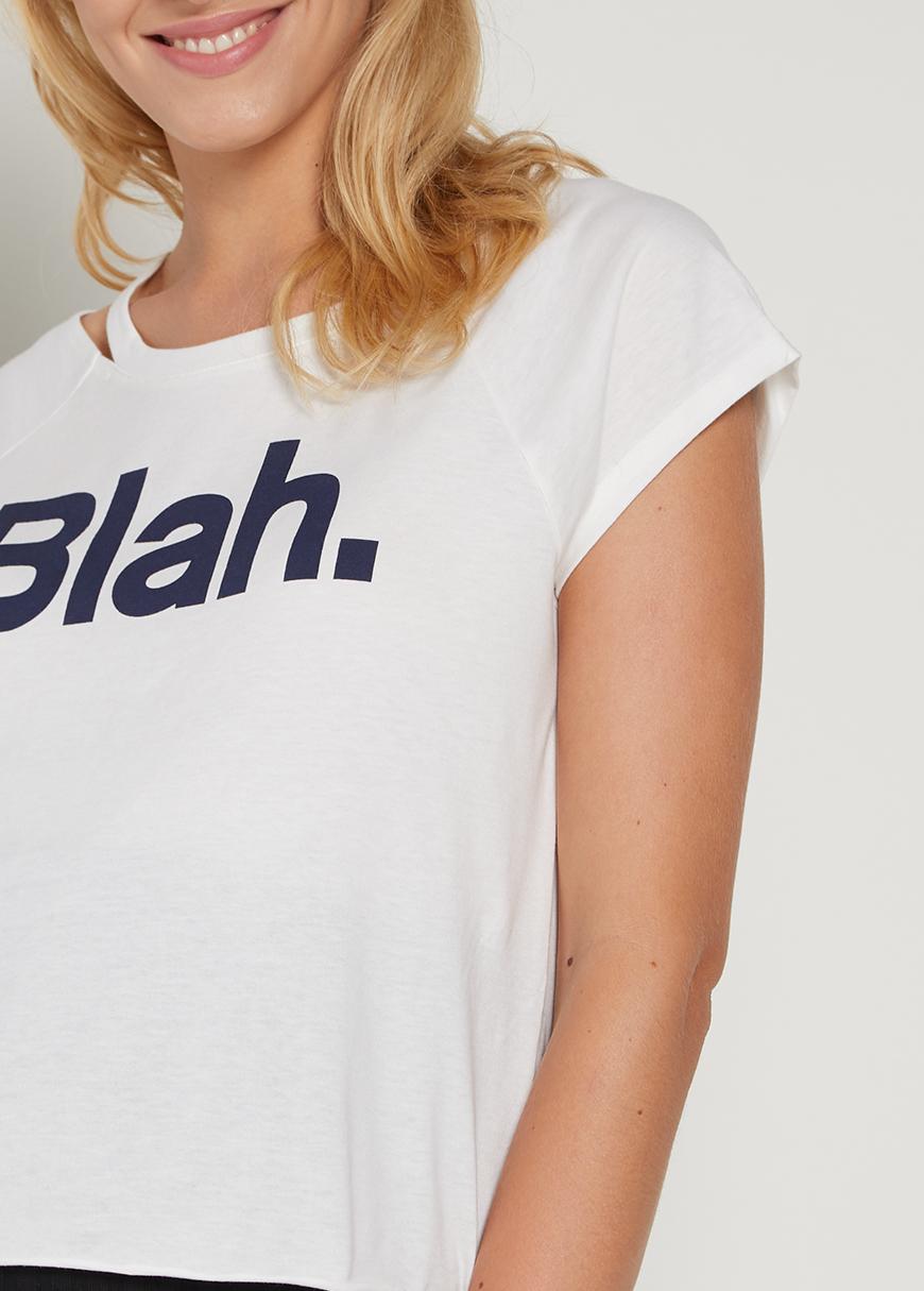 Sloganlı Crop Hamile Tişörtü Yuki
