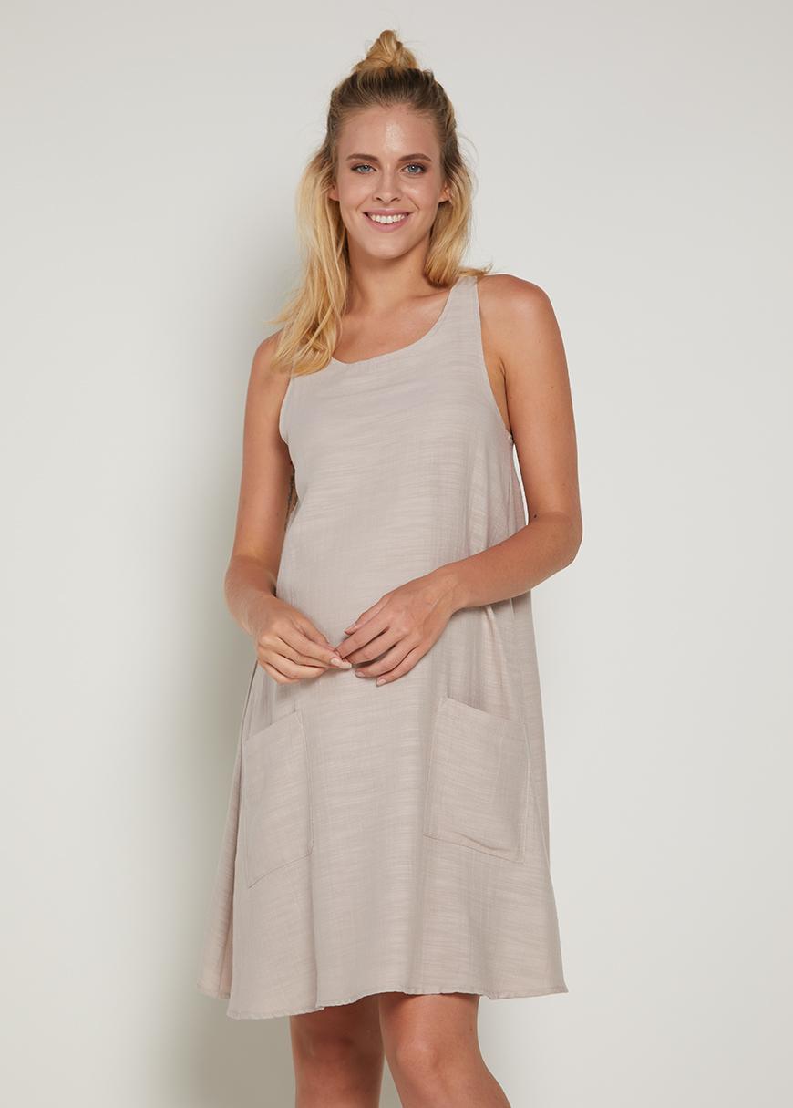 Askılı Mini Hamile Elbisesi Zena