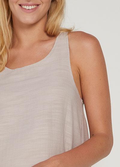 Askılı Mini Hamile Elbisesi Zena - Thumbnail
