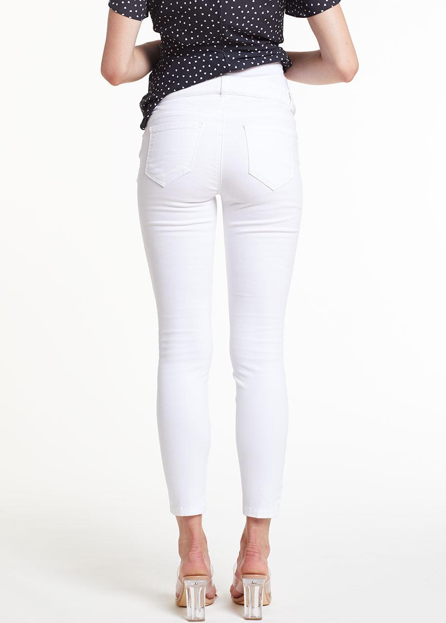 Beyaz Skinny Hamile Pantolonu, Tr Norway