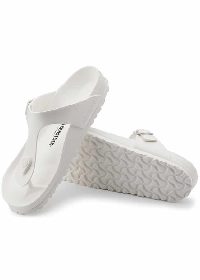 - Birkenstock Gizeh EVA Sandalet Beyaz (128221)