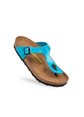 - Birkenstock Sandalet Birko Flor Blue