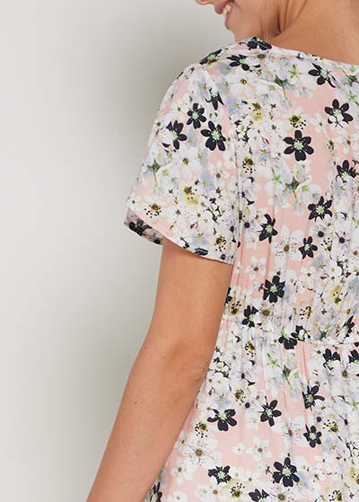 Çiçekli Hamile Elbisesi Ford - Thumbnail