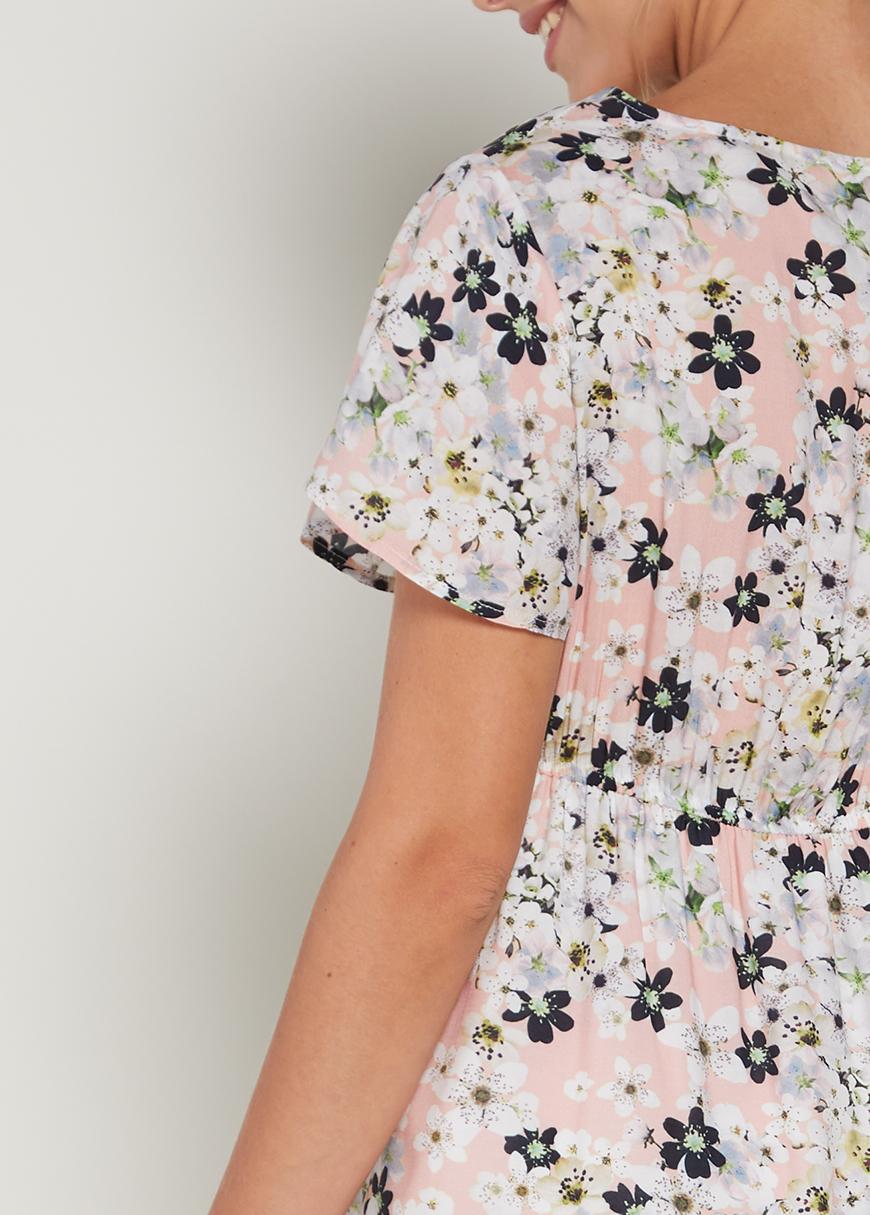 Çiçekli Hamile Elbisesi Ford