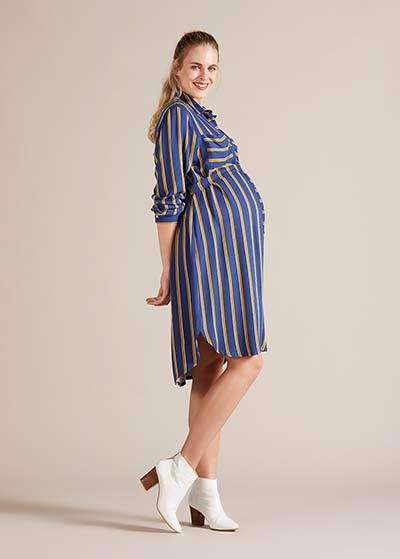 Hamile Gömlek Elbise Line - Thumbnail