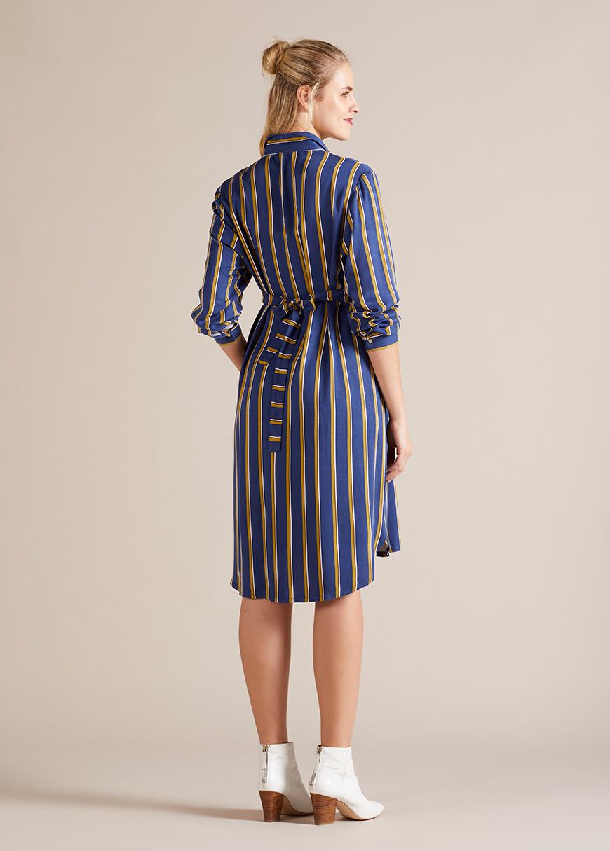 Hamile Gömlek Elbise Line