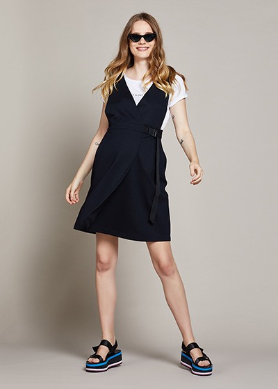 Beli Ayarlanabilir Hamile Elbisesi Delfina - Thumbnail