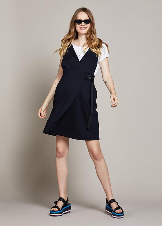 - Beli Ayarlanabilir Hamile Elbisesi Delfina