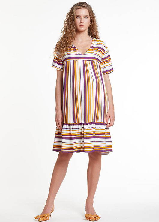 - Kısa Kollu Emzirme Özellikli Hamile Elbisesi Dress Romania