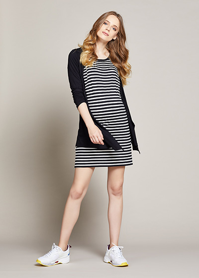 Hırkalı Hamile Elbisesi Cassia - Thumbnail