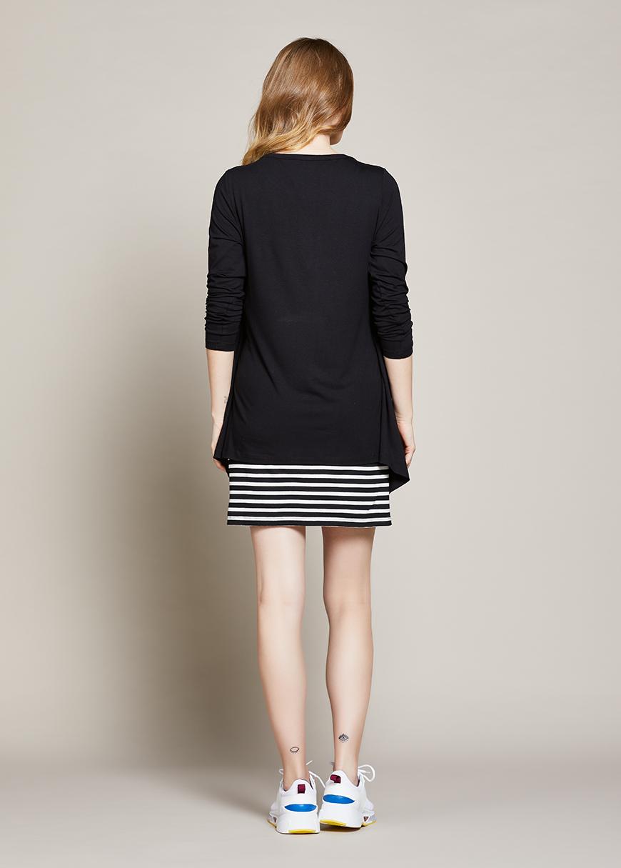 Hırkalı Hamile Elbisesi Cassia