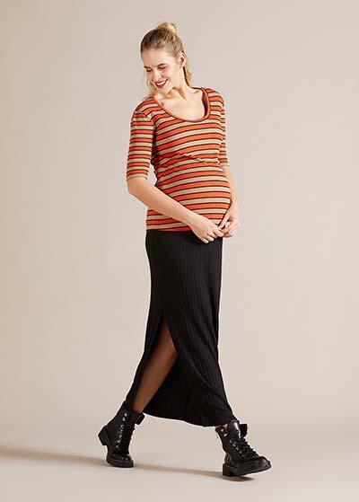 Fitilli Uzun Hamile Eteği Gabrielle - Thumbnail