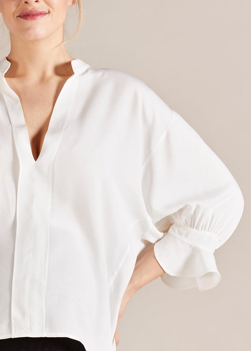 Geniş Formlu Hamile Bluzu Julia