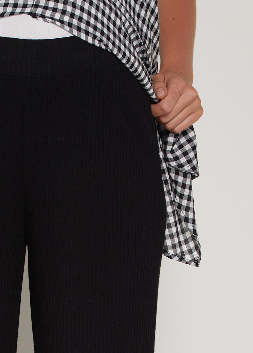 Geniş Paça Culotte Hamile Pantolonu Sow