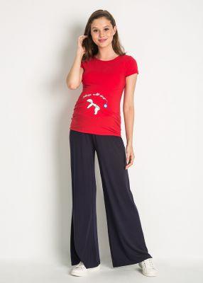 - Geniş Paçalı Spor Hamile Pantolonu Clip