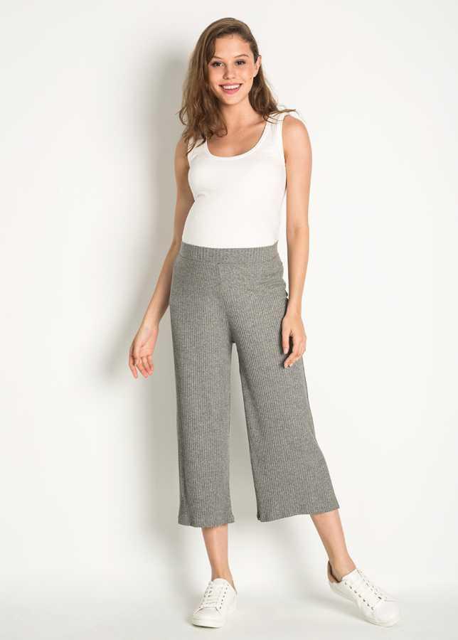- Geniş Paça Culotte Hamile Pantolonu Zen
