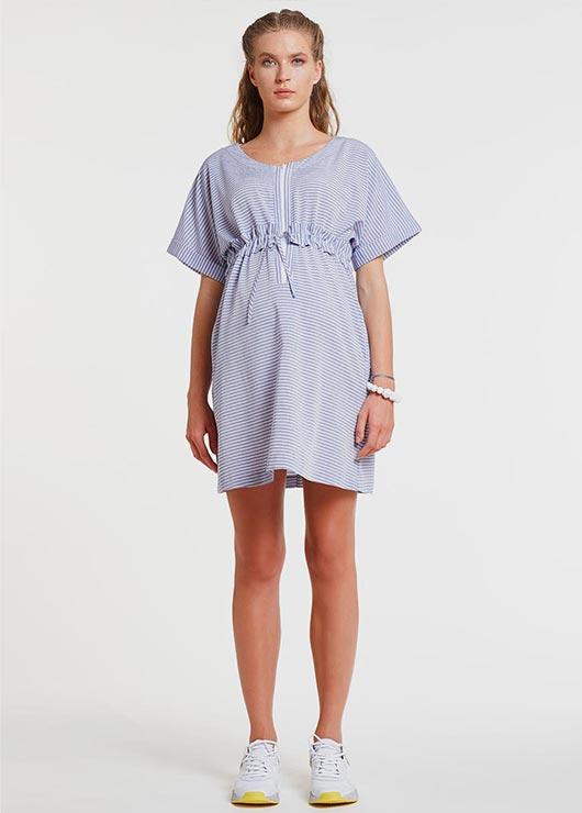 - Ayarlanabilir Kuşaklı Hamile Elbisesi - Dress Tera