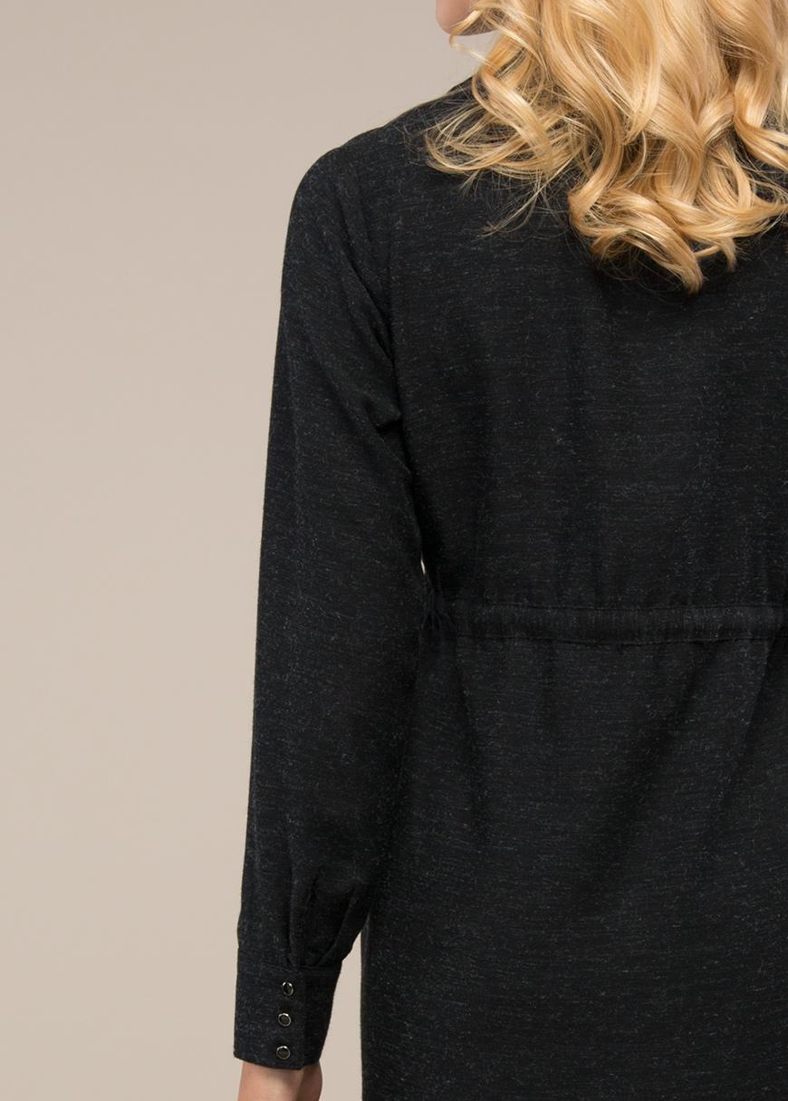 Gömlek Yakalı Hamile Elbisesi Alber