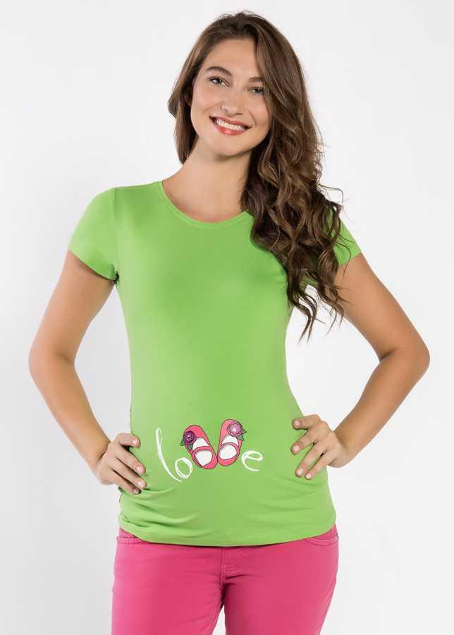 Esprili hamile tişörtü shoesgirl