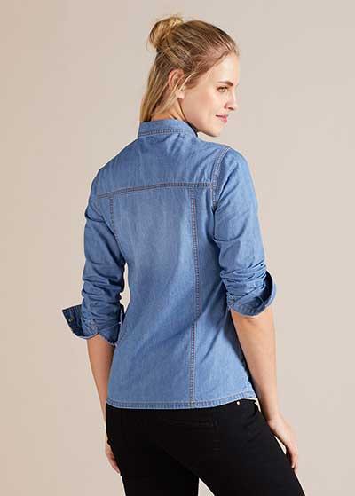 Jean Hamile Gömleği Mykonos - Thumbnail