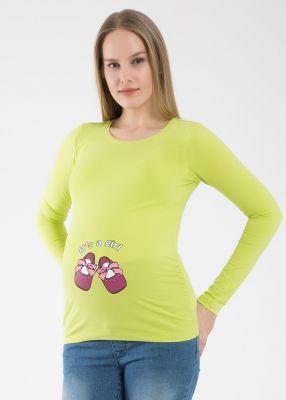 - Esprili Hamile Tişörtü Baby Shoes Girl