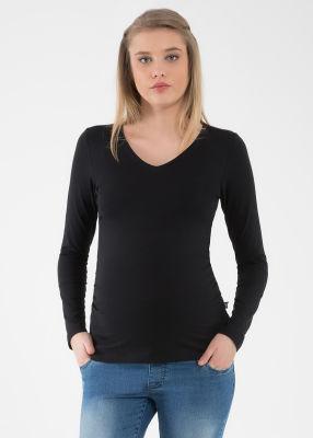 - Uzun Kollu Basic Hamile Tişörtü Marni