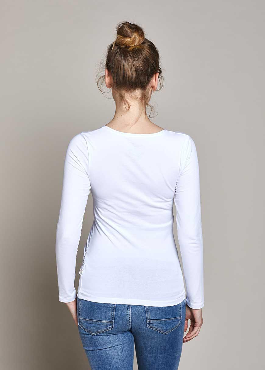 Uzun Kollu Basic Hamile Tişörtü Marni