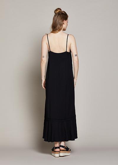Askılı Uzun Hamile Elbisesi Berta - Thumbnail