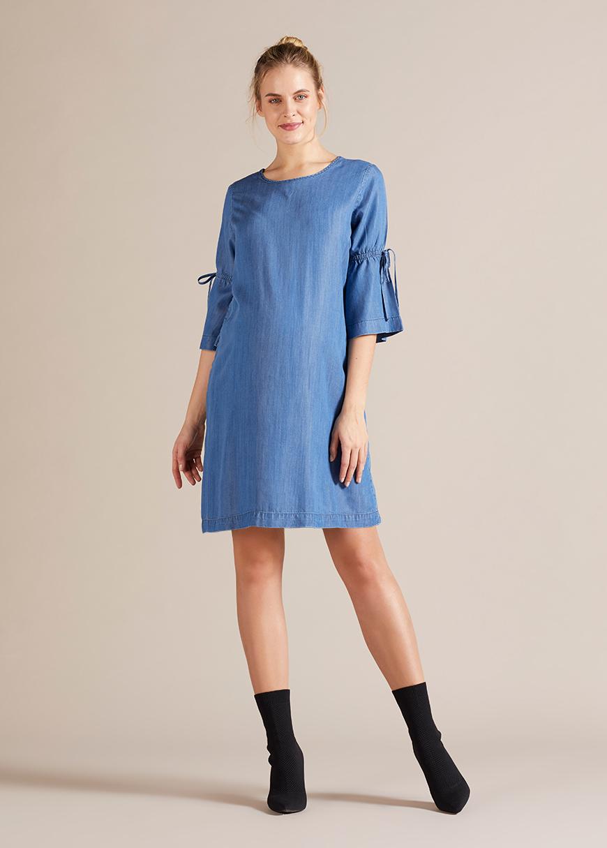 - İnce Jean Hamile Elbisesi Bea