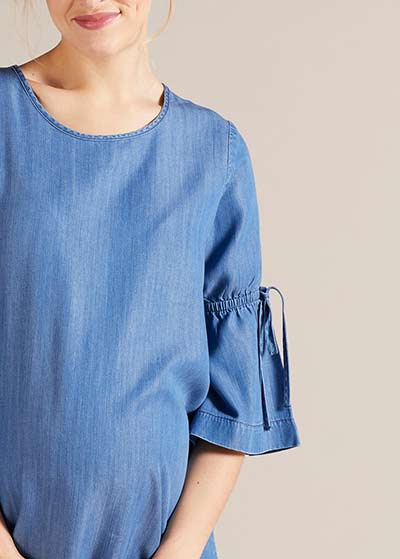 İnce Jean Hamile Elbisesi Bea - Thumbnail