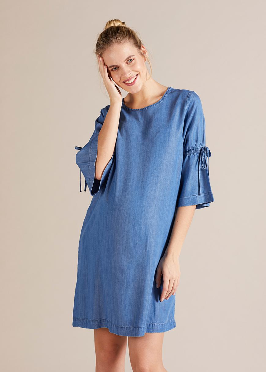 İnce Jean Hamile Elbisesi Bea