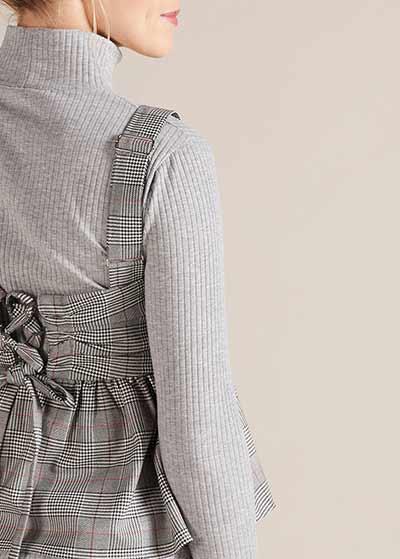 Kareli Hamile Bluzu Serena - Thumbnail