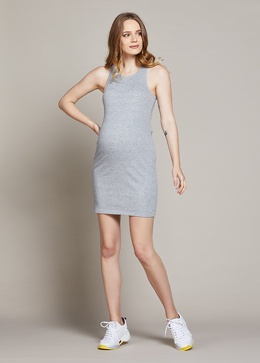 - Kısa Tüp Hamile Elbisesi Marcela