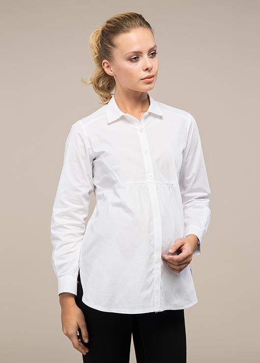 - Klasik Hamile Gömleği Bow