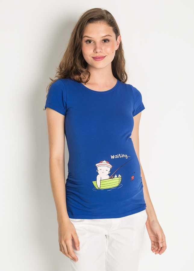 Esprili Hamile Tişörtü Sailor