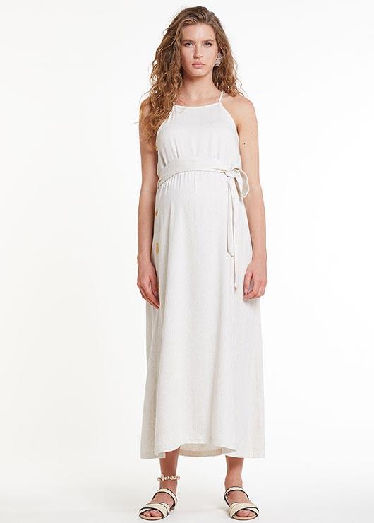 - Kuşaklı Hamile Elbisesi Dress Russia