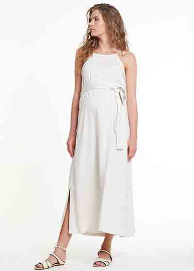 Kuşaklı Hamile Elbisesi Dress Russia - Thumbnail