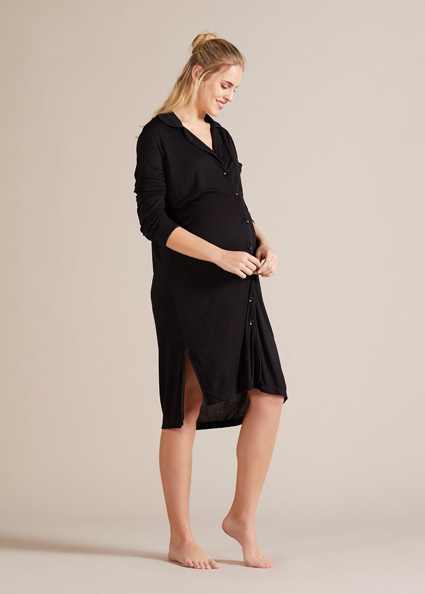 Nightdress Black