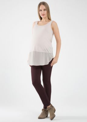 - Turnup Classic Trousers Livia